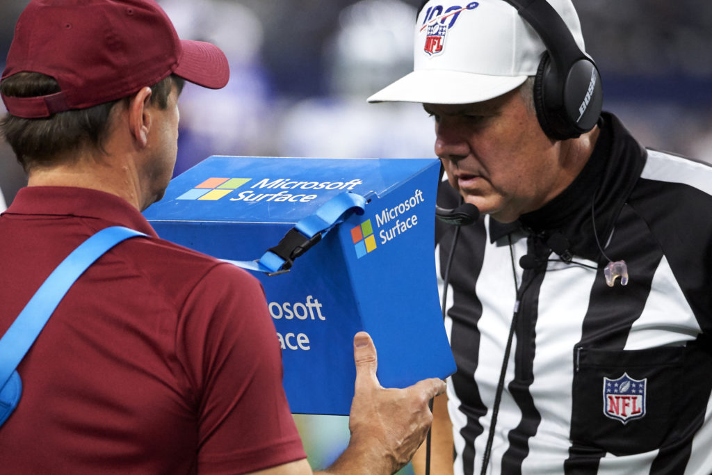 Surface instant replay system