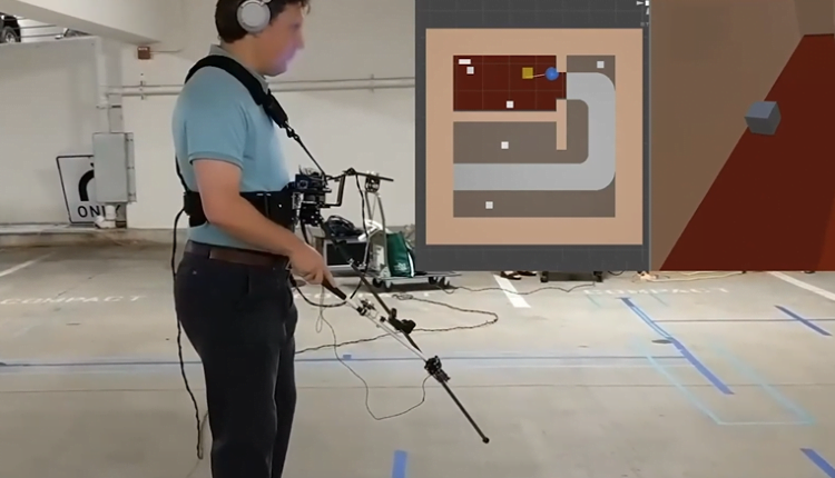 Microsoft introduced an improved version of virtual reality for the blind