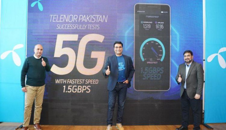 Telenor Conducts Successful 5G Trials in Pakistan