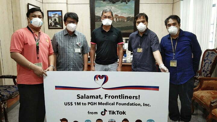 TikTok to donate $1 Million for health care workers in the Philippines