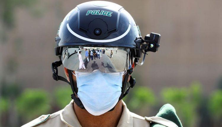 Emirati police deploy smart tech helmets in coronavirus fight
