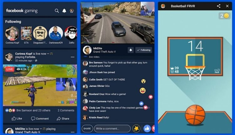 Facebook is releasing a dedicated gaming app tomorrow