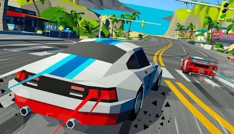 Hotshot Racing Is a Low-Poly Ode to the Golden Era of '90s Arcade Racing