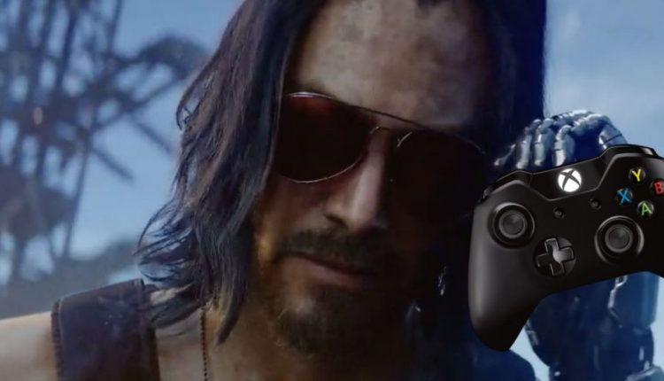Limited Edition Cyberpunk 2077 Xbox One Controller Looks Great