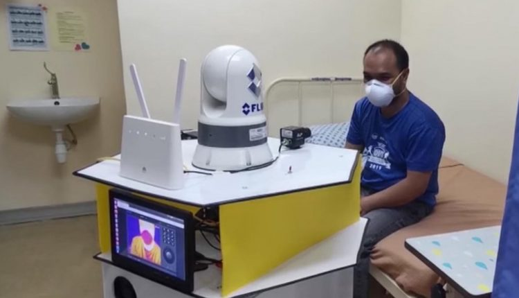 Malaysia has developed a robot that allows doctors to access patients remotely