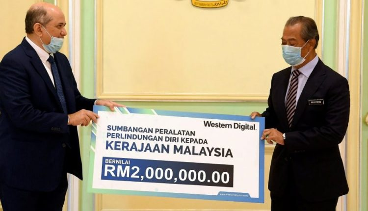 Western Digital donates RM2mil worth of PPEs for Covid-19