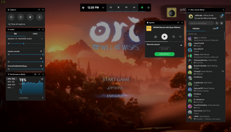 Xbox Game Bar gets Widget Store with support for Xsplit and more
