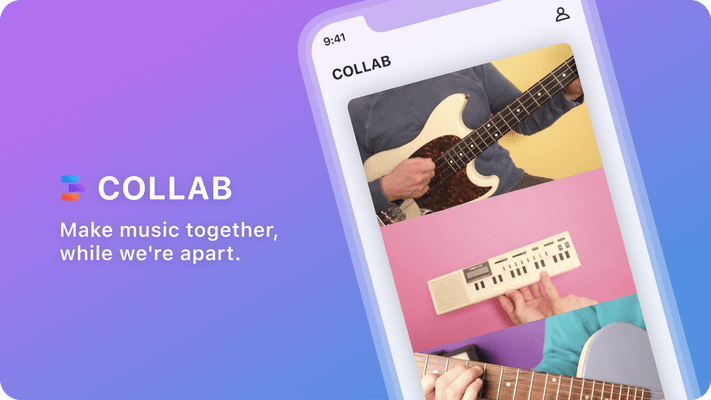 Facebook launches Collab, a mix and match app for making collaborative music videos