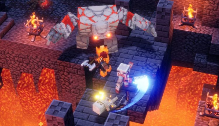 Minecraft Dungeons Is A Fun But Stripped-Down Dungeon Brawler