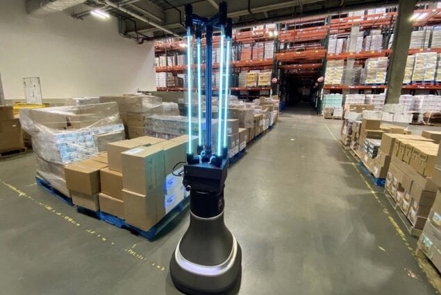 MIT robot disinfects Greater Boston Food Bank