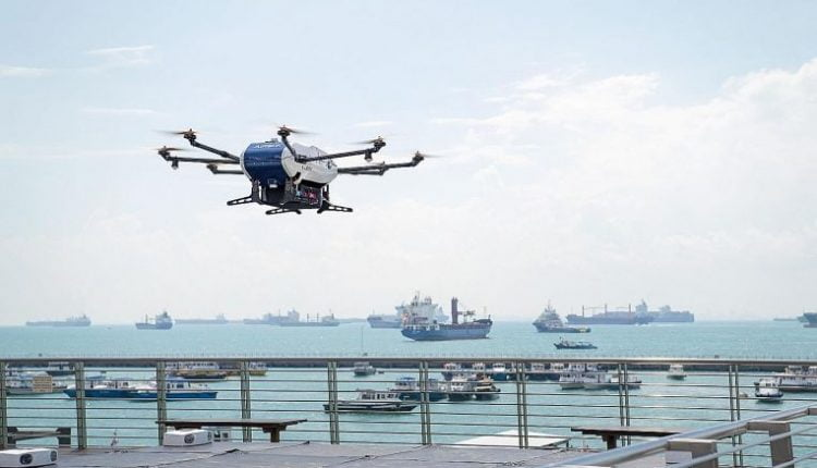 5G trial to test drones for improved port surveillance