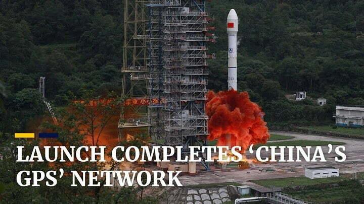 China puts final satellite for Beidou navigation network into orbit