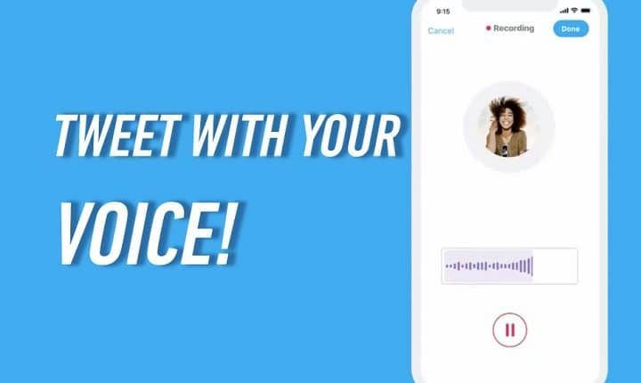 How to use Twitter's new voice tweet feature on iOS