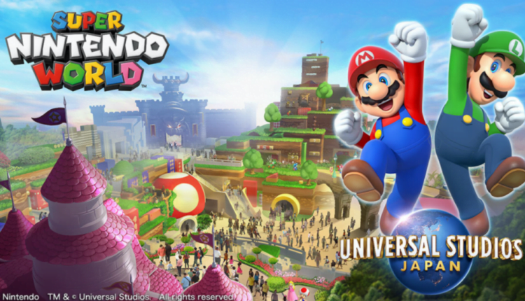 Universal Studios Japan's Super Nintendo World Delayed Due Covid-19