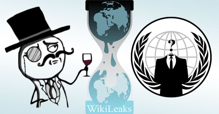 WikiLeaks Founder Accused of Conspiring With Anonymous Hackers