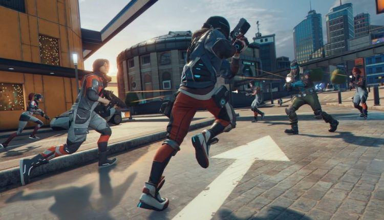 Ubisoft's Hyper Scape is a sci-fi battle royale with audience participation