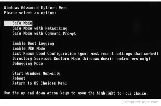 Boot Into Safe Mode And Disable Start Up