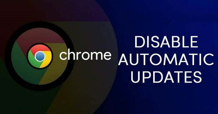 How to Disable Automatic Chrome Updates in Windows