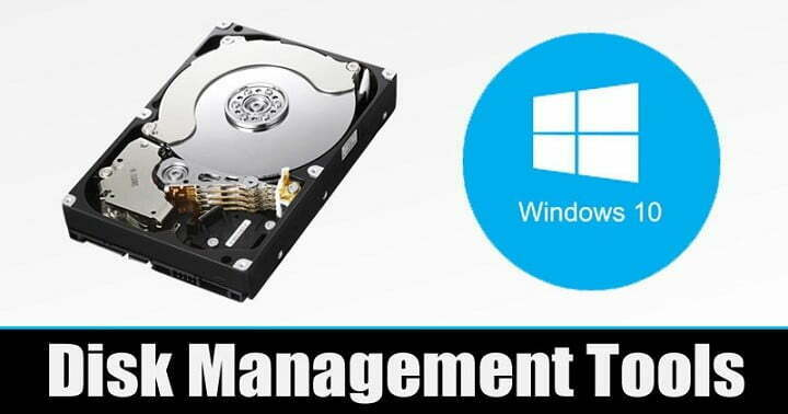 5 Best Disk Management Tools For Windows 10 Computer
