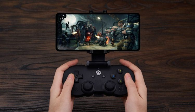 A Controller Built For Xbox Game Streaming