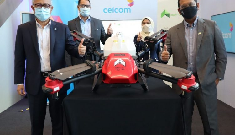 Celcom to co-develop 5G drone tech for smart cities and agritech