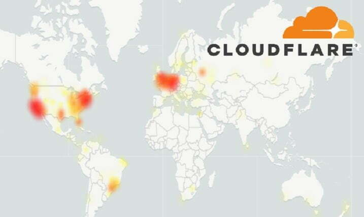 Cloudflare's DNS Issue, Service Shuts Down Half The Web