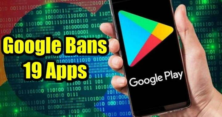 Google Bans 19 Android Apps for Injecting adware