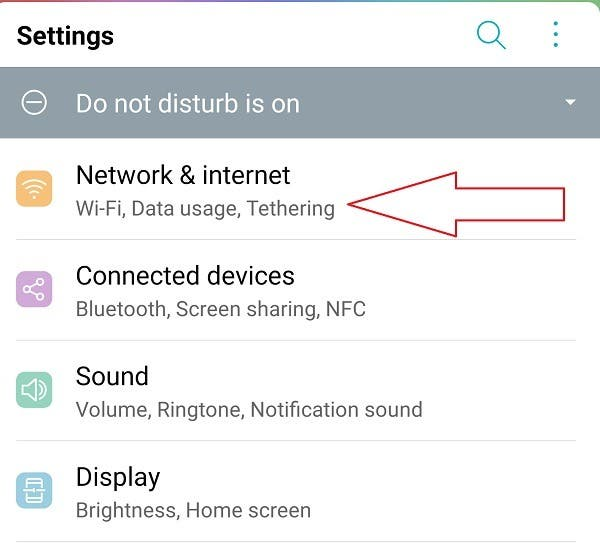 How To Set A Metered Wifi Connection On Android Network