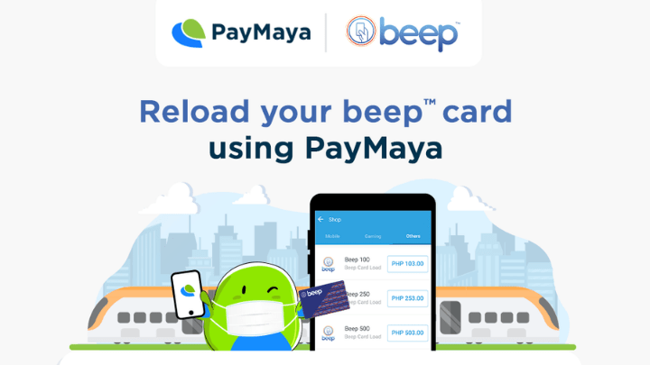 PayMaya and beep partner for contactless commuter payments
