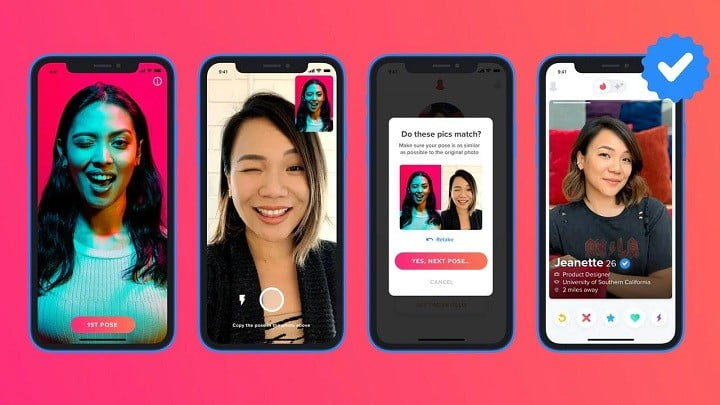 Tinder introduces Photo Verification feature to avoid catfishing