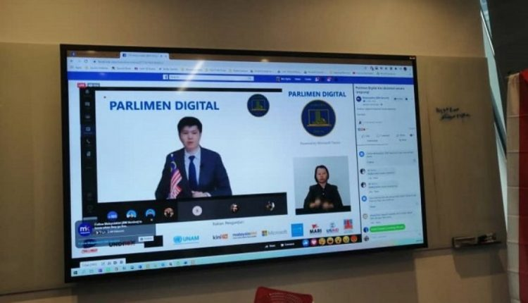 Youths show Malaysia's lawmakers that virtual Parliament completely possible