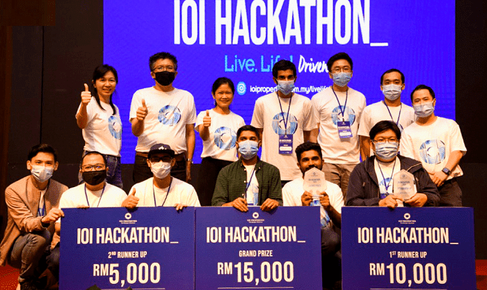 Inaugural IOI Hackathon finds its proptech winners
