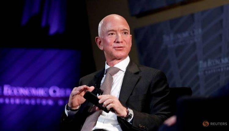 Jeff Bezos sells US$3.1 billion worth of Amazon shares