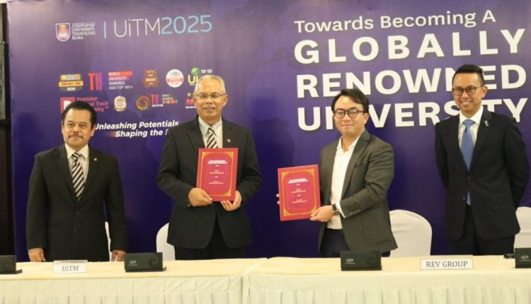 REV Media Group Sign MoU With UiTM to Promote Esports Among Students