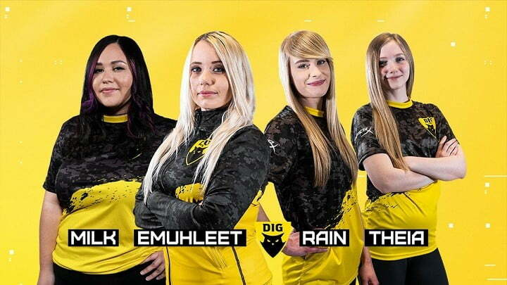 Dignitas launches initiative for female esports players
