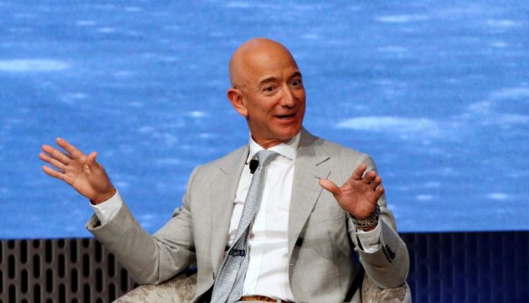 Amazon's Jeff Bezos becomes first person ever worth US$200 billion