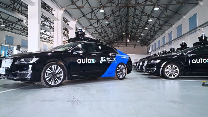 AutoX Launches RoboTaxi Service In Shanghai With Didi's Pilot Program