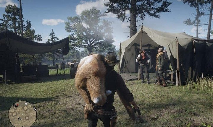Beware This Pack Of Deadly Beavers In Red Dead Online