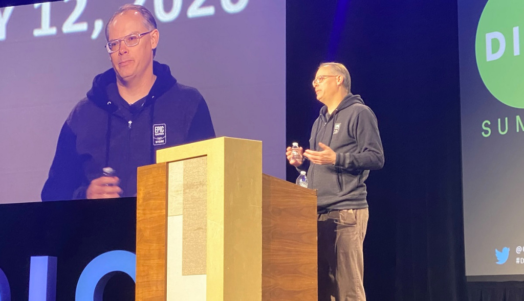 Tim Sweeney, CEO of Epic Games, argued to make the game industry more open in the next decade at the Dice Summit 2020.