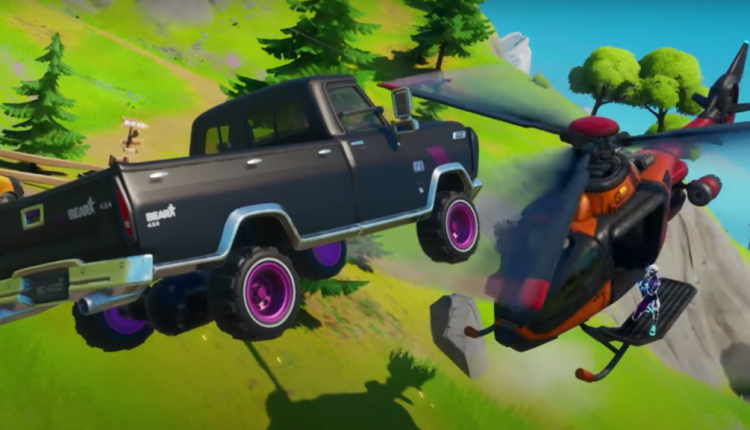 Here's How Fortnite's New Cars Work