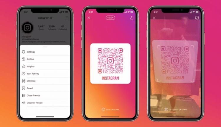 Instagram update brings universal QR code to individual profiles