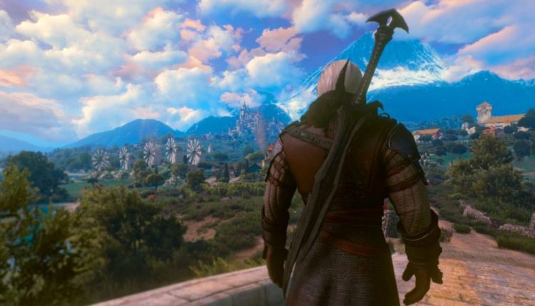 The Witcher 3 Mod Lets Players Use Iconic Skyrim Weapon