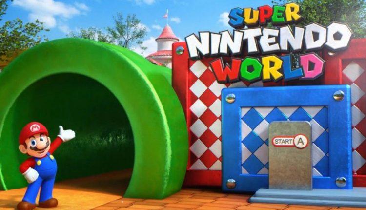 Universal Studios' Super Nintendo World Orlando Delayed Indefinitely