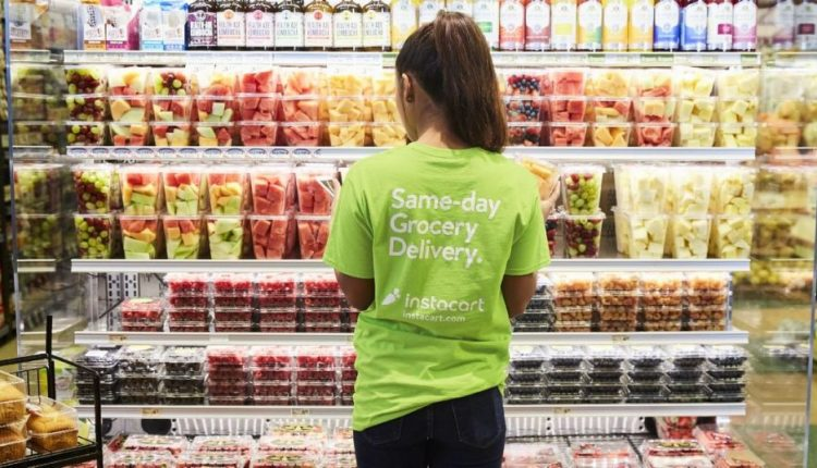 Walmart teams up with Instacart to rival Amazon for same-day grocery delivery
