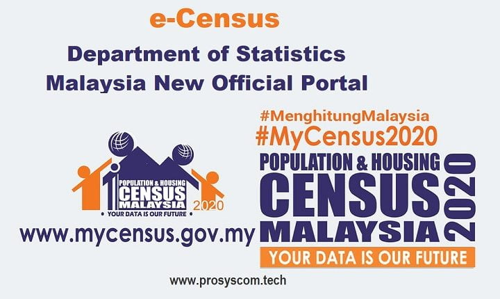 e-Census: Department of Statistics Malaysia New Official Portal