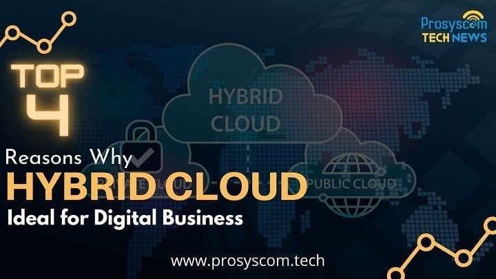 Top 4 Reasons Why Hybrid Cloud is Ideal for Digital Business