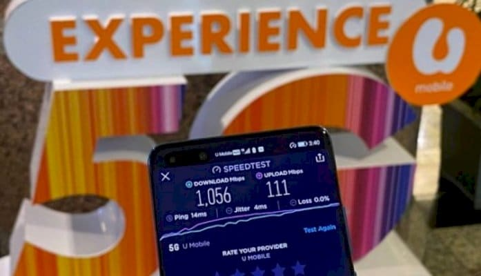 "U Mobile launches ""Fast Forward with U Mobile 5G"" live trial"