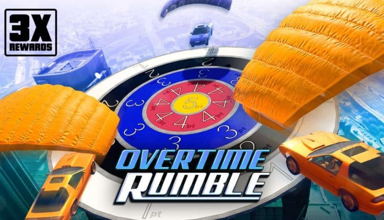 Grand Theft Auto 5 Online Is Offering Triple Overtime Rumble Rewards