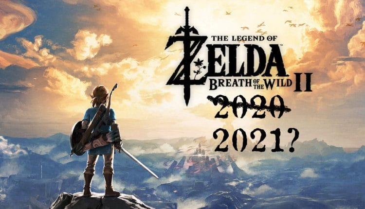 Don't Expect Zelda: Breath of the Wild 2 Before 2021