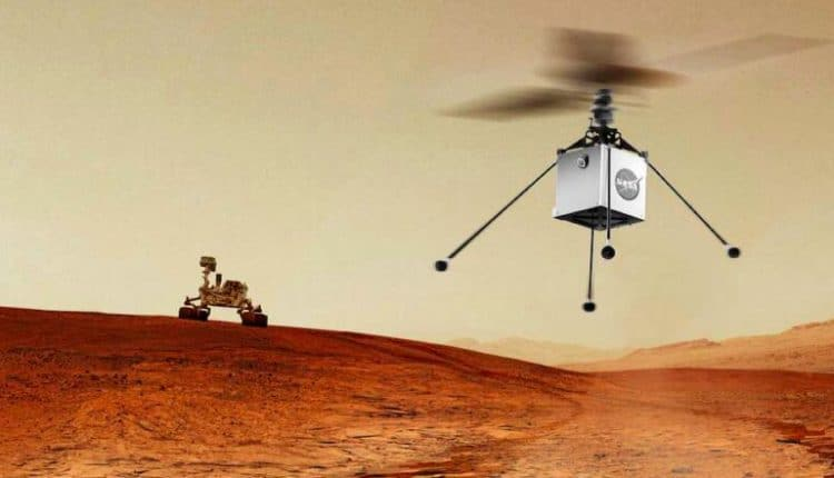 A three-agent robotic system for Mars exploration